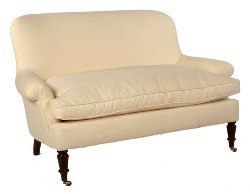 French Settee with Slipcover Options
