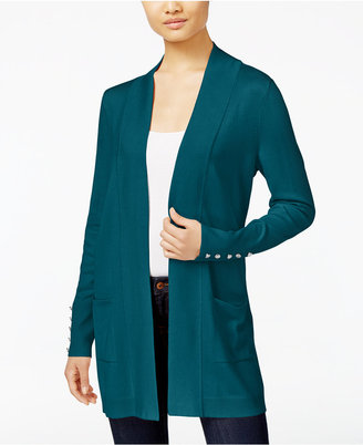 JM Collection Open-Front Cardigan, Only at Macy's $59.50 thestylecure.com
