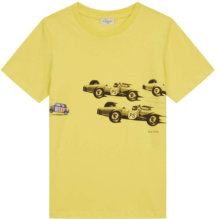 RonnieRace Car PrintT-shirt