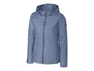 Cutter & Buck Women's Weathertec Wind-Water Resistant Packable Panoramic Jacket