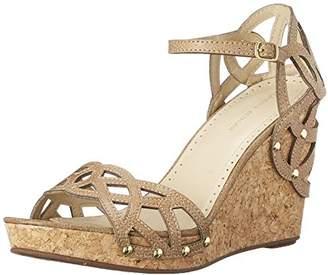 Adrienne Vittadini Footwear Women's Chavi Wedge Sandal $27.51 thestylecure.com