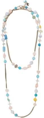 Rosantica Gold-Tone Multi-Stone Necklace