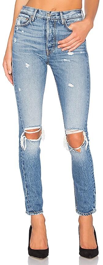 GRLFRND Karolina High-Rise Skinny Jean 4