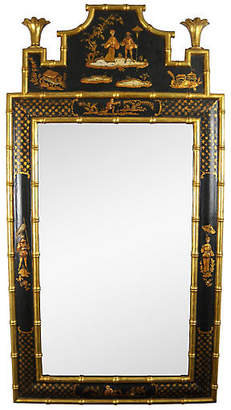 One Kings Lane Vintage Chinoiserie Wall Mirror - Acquisitions Gallerie