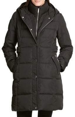 DKNY Long-Sleeve Hooded Jacket