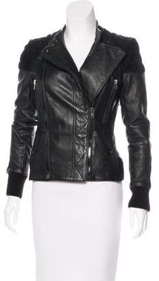 Surface to Air Fire Leather Jacket
