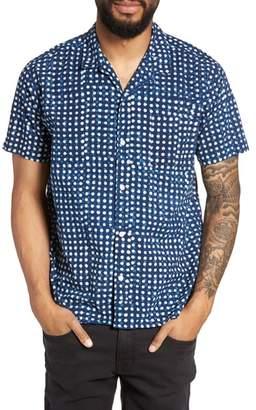 YMC Malick Slim Fit Dot Sport Shirt