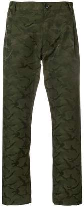 Comme des Garcons Boys camouflage cropped trousers