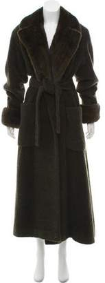 Neiman Marcus Fur Long Coat