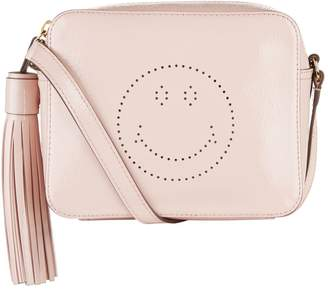 Anya Hindmarch Patent Smiley Cross Body Bag