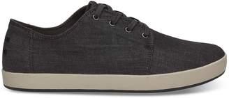 Toms Black Chambray Men's Payton Sneakers