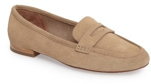 Women's Linea Paolo Abby Penny Loafer Flat $119.95 thestylecure.com