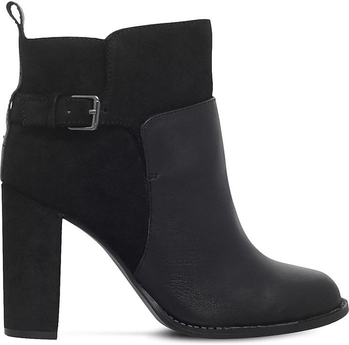 Nine WestNINE WEST Quinah buckled leather boots