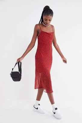 Third Form Rumba Animal Print Slip Dress