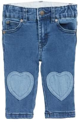 Stella McCartney Bob Heart Patch Jeans