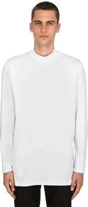 Diesel Black Gold High Collar Jersey Long Sleeve T-Shirt