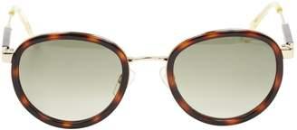Tommy Hilfiger Brown Plastic Sunglasses