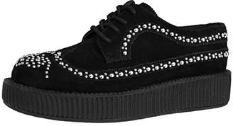 T.U.K. Unisex Studded Wingtip Creeper Slip-On Loafer