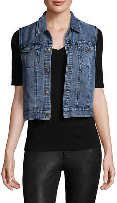 Three Dots Denim Vest