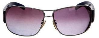 Prada Aviator Gradient Sunglasses