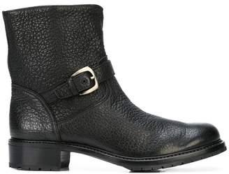 Gravati buckle biker boots
