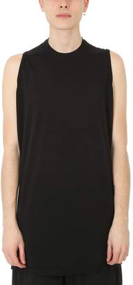 Drkshdw Black Cotton Tank Top