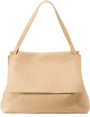 The Row 14 Two Fine Grained Top Handle Bag