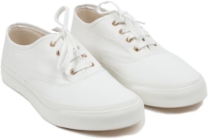 MAISON KITSUNE Mens Canvas Sneakers