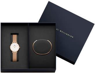 Daniel Wellington DW00500020 Women's Gift Pack Rose 28mm Watch and Cuff