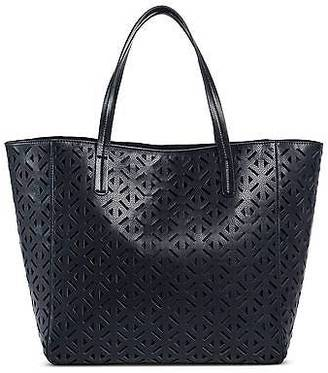 Merona; Women's Faux Leather Perforated Tote Handbag - Merona; $39.99 thestylecure.com