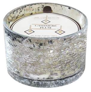 THE Collection 17.2oz Glass Jar 3-Wick Candle Cashmere Plum - The Collection By Chesapeake Bay Candle