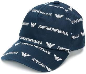 Emporio Armani Blue Hats For Men - ShopStyle UK 6c77e39d5253