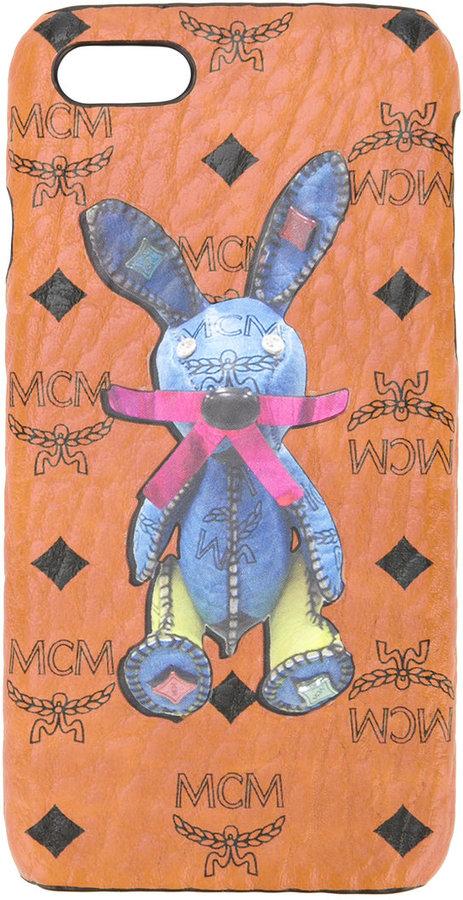 MCMMCM rabbit print iPhone 7 case