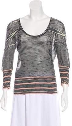 Missoni Long Sleeve Striped Top