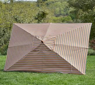 Pottery Barn Sunbrella®; Rectangular Umbrella -Newport Stripe