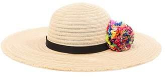 Eugenia Kim Honey Multi Pom Floppy Hat
