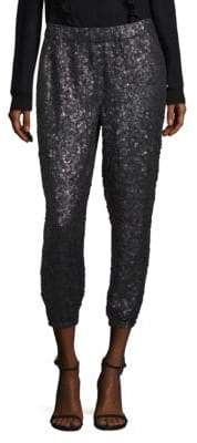 Joie Aife Sequined Jogger Pants