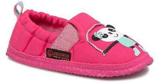 Giesswein Kids's Alharting Slippers in Pink