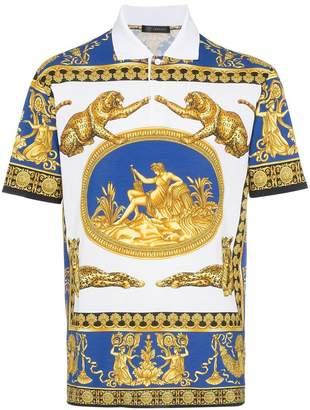 Versace Scene Polo Shirt