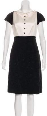 Chanel Velvet Camellia Dress w/ Tags
