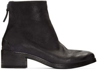 Marsèll Black Leather Listo Boots