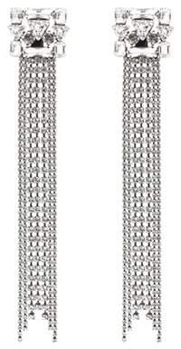 Dodo Bar Or Crystal clip-on earrings