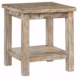Signature Design by Ashley Ashley Furniture Signature Design - Vintage Chair Side End Table - Rustic Brown
