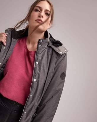 Plus Size Hooded Ski Jacket - ActiveZone
