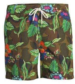 Polo Ralph Lauren Traveler Tropical Swim Trunks