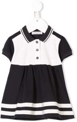 Moncler two tone polo dress