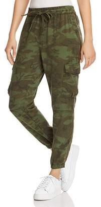 Pam & Gela Side-Stripe Camo Jogger Pants