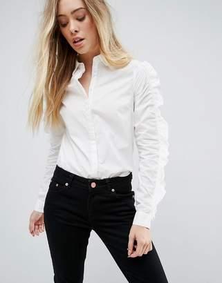 Vero Moda Ruffle Sleeve Shirt