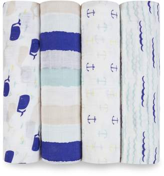 Aden Anais Aden & Anais High Seas Swaddles (Set of 4)