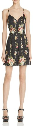 Alice + Olivia Alves Floral Print Dress $250 thestylecure.com